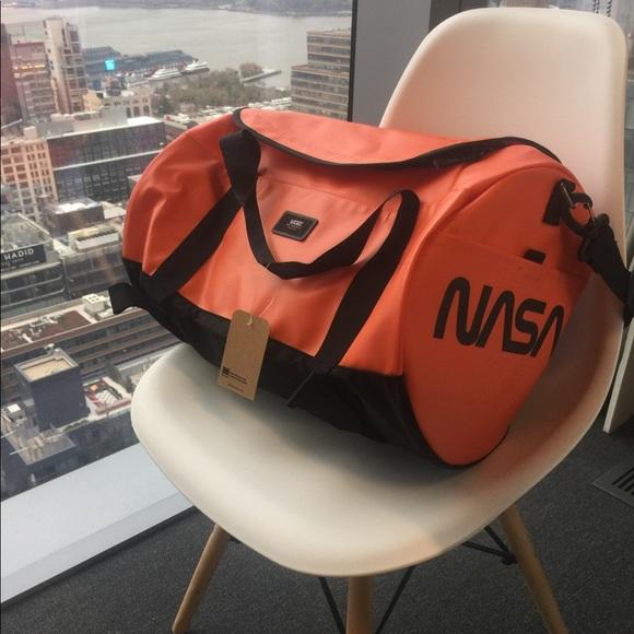 Vans X Space Voyager Grind Slate Travel Duffel Bag NWT